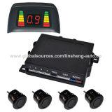 Sistema de sensor de estacionamento com display LED para carros / furgões universais