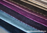 tissu de sofa de velours du jacquard 100%Polyester