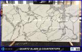 Partie supérieure du comptoir conçues neuves de quartz de matériau de construction pour la cuisine