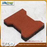 Stuoia di gomma termoresistente del pavimento dell'osso di cane/mattonelle di pavimento di gomma per il cavallo