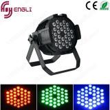 段階の特殊効果(HL-038)のためのParcans 36PCS 3W RGB 3in1 LEDの同価