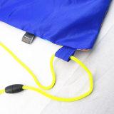 Sac de sac à dos de cordon de caractère de polyester