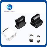 De cilindrische Plastic Houder van de Zekering van de Steun van het Spoor van het Lage Voltage DIN voor de Link van de Zekering 10X38 14X51 22X58