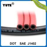 Qualité EPDM de Yute boyau de frein à air de 5/16 pouce