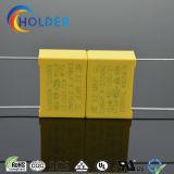 Seguridad amarilla del condensador X2 MKP del rectángulo