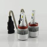 Faros del faro del coche del LED C6 H8 H9 H10 H11 Csp 8000lm 72W Faro principal del LED