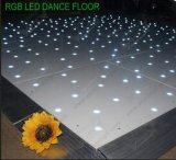 RGB color LED Dance Floor para el banquete de boda
