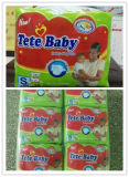 Prix usine remplaçable de Fujian de constructeur de couche-culotte de bébé de Tete