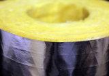 Fiberglass Heat Fiber Glass Material de isolamento de tubos de lã