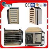 Venta caliente material galvanizado 9kw calentador de la sala de sauna