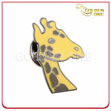 Shiney Goldende fertigen weichen Decklack-MetallreversPin kundenspezifisch an