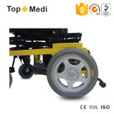 С ограниченными возможностями стальная электрическая кресло-коляска с приведенным в действие поднимаясь местом
