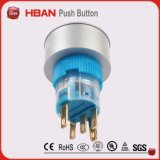 22mm rond auto réinitialisation Pus Hbutton Switch