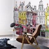 Liberar la impresión perfecta de los murales de la pared del vinilo de la alta calidad del diseño