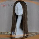 Tipo 100% dei capelli di Remy del Virgin di rapporto lavoro manuale del grado che scarica la parrucca anteriore dell'unità di elaborazione delle mono trame aperte della parte superiore