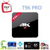 Le meilleur OEM sec T96 de cadre d'Amlogic S912android TV de l'androïde 6.0 de cadre de l'androïde TV PRO