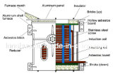 熱い販売のMideumの頻度誘導のアルミニウム溶ける炉