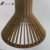 En bois et lampe pendante de l'acier inoxydable 201 pour la salle à manger