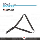 Tacband SL01 taktischer Riemen des Hochleistungsdes nylon-2 Punkt-to-1 mit Nähen-in Qd-Verschluss-Schwenkern