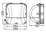 品質は30With40With50WにLEDを屋内及び屋外のためのパック軽いWallpackを囲ませる(WL101)