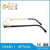 Telaio dell'ottica di Eyewear di alta qualità di vetro di titanio Semi-Senza orlo del monocolo (8415)