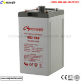 Batterie profonde Cg2-400 de la batterie 2V 400ah de gel de cycle de Cspower