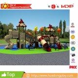 Campo de jogos ao ar livre comercial superior da casa mágica de 2016 HD16-065A