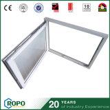 防音PVCプロフィールの倍のガラスブラインドの中のTilt&の回転Windows