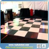 Precios portables al aire libre al por mayor Dance Floor blanco y negro de China Dance Floor