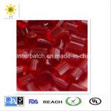 Прозрачное красное Masterbatch с высоким качеством