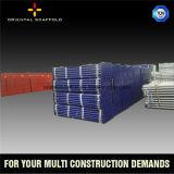 apoyo de la pared de la seguridad para el soporte de la construcción