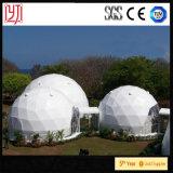 Шатра восьмиугольника шатра купола диаметра 7.5m шатра купола шатер 15m прозрачного шестиугольный