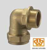 Brass Compression Montage Het verminderen van Tee 5130r