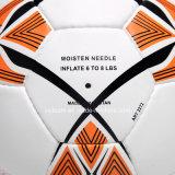 Látex vejiga cuero compuesto híbrido del balón de fútbol