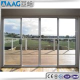 Porte coulissante en aluminium enduite de poudre/porte coulissante en aluminium