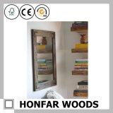 يعيش غرفة زخرفيّة كبيرة حجم مرآة إطار خشب إطار