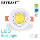 lámpara ligera Ce&RoHS de Downlight del proyector de 10W LED