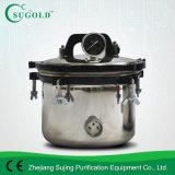 autocuiseur portatif de stérilisation de stérilisateur d'autoclave d'acier inoxydable de 8liters Xfs-260
