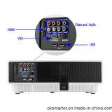Proyector casero portable del Portable del teatro del uso HD 1080P de la alta calidad de alta resolución llena de W310