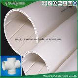 PVC-Uの空の螺線形の沈黙の管の/PVCのDrain-Pipe