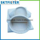 Bolso de filtro del polvo para la industria del cemento