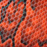 耐久の浮彫りにされたPU PVC袋の革