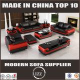 Le sofa 2017 en cuir moderne le plus neuf pour les meubles de salle de séjour (LZ1488)