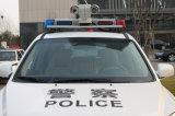 câmera de alta velocidade do CCD do carro de polícia 2.0MP do CMOS do zoom 30X HD IR PTZ