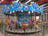 16 Asientos Kiddie Rides Ocean Carousel for Playground