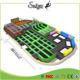 Аттестованный Ce коммерчески парк Trampoline для детей