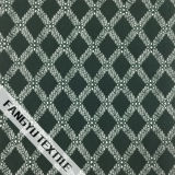 十字ラインデザイン綿のナイロンレースファブリック