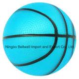 カスタムロゴは膨脹させたPVCおもちゃのバスケットボールを印刷した