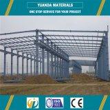 Almacén galvanizado de la estructura de acero