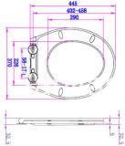 Zweiteiliger keramischer gesundheitlicher Ware-Toiletten-Filterglocke-Toiletten-Sitz